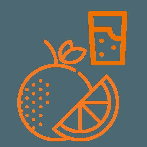 Water & Fruit